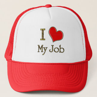 I Heart My Job Trucker Hat