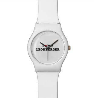 I Heart My Leonberger May28th Wristwatch