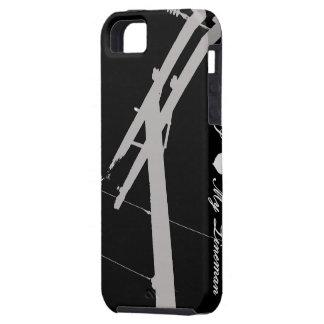 I (Heart) My Lineman- iPhone 5 Case Black