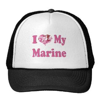 I Heart My Marine Cap