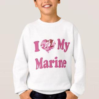 I Heart My Marine Sweatshirt