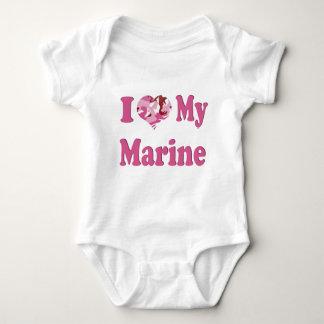 I Heart My Marine Tees