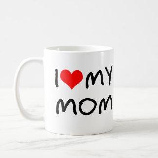 I Heart My Mom Coffee Mug