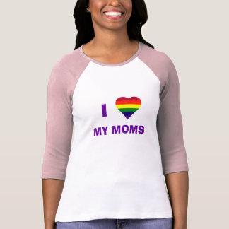 I Heart My Moms T-Shirt