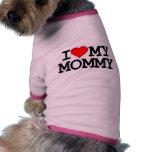 I Heart My Mummy Dog Clothing