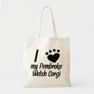 I Heart My Pembroke Welsh Corgi Bag