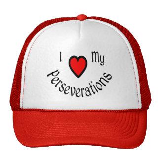 I Heart My Perseverations Hats