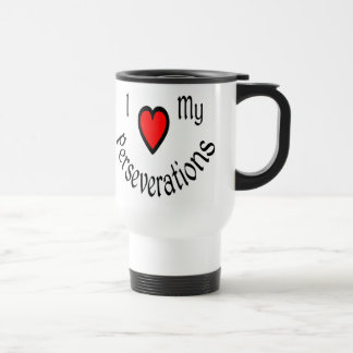 I Heart My Perseverations Travel Mugs