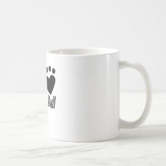 I Heart My Pit Bull Mugs