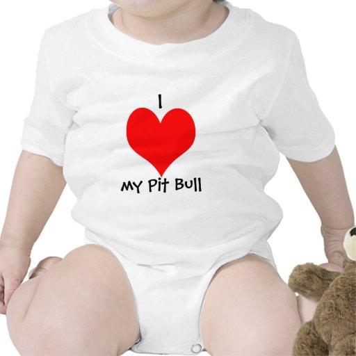 I *heart* my Pit Bull Tee Shirts