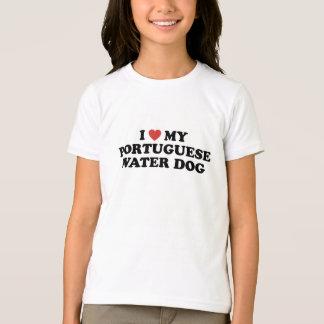 I Heart My Portuguese Water Dog T-Shirt