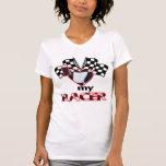 I Heart My Racer Tshirts