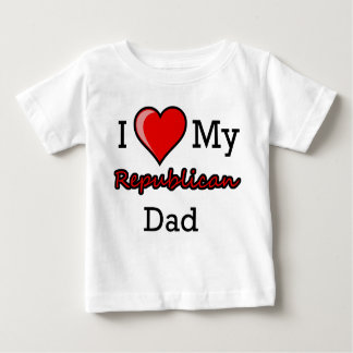 I Heart My Republican Dad Infant T-Shirt