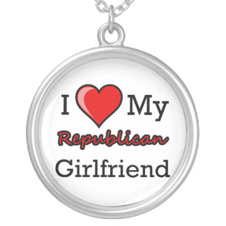 I Heart My Republican Girlfriend Necklace