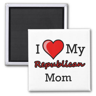 I Heart My Republican Mom Magnet