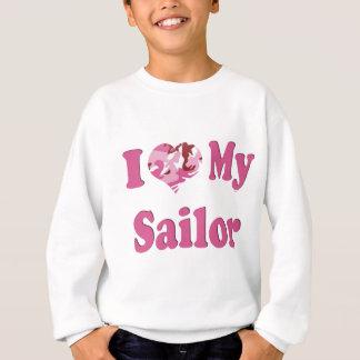 I Heart My Sailor Sweatshirt