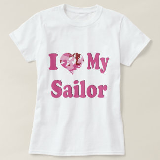 I Heart My Sailor T Shirt