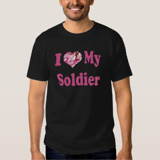 I Heart My Soldier Tees