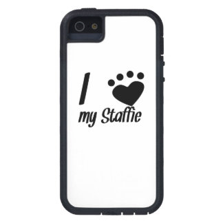 I Heart My Staffie iPhone 5/5S Case