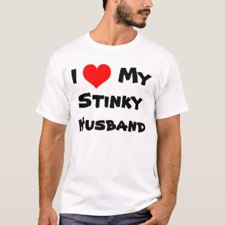 I Heart My Stinky Husband T-Shirt