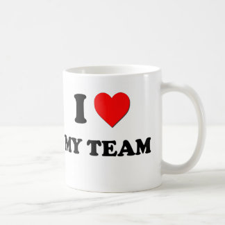 I Heart My Team Mug