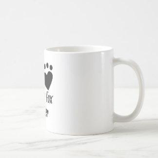 I Heart My Toy Fox Terrier Mugs
