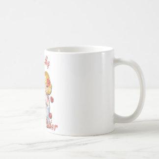 I (Heart) my Twin Sister Basic White Mug