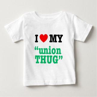 "I Heart My ""Union Thug"" Baby T-Shirt"