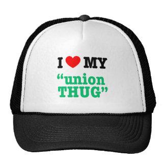 "I Heart My ""Union Thug"" Trucker Hat"