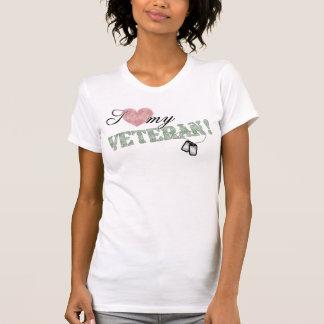 I Heart My Veteran T Shirt
