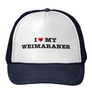 I Heart My Weimaraner Trucker Hat