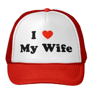 I Heart My Wife Hat