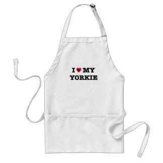 I Heart My Yorkie Apron
