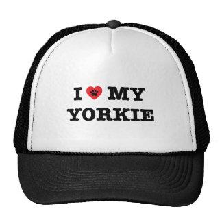 I Heart My Yorkie Trucker Hat