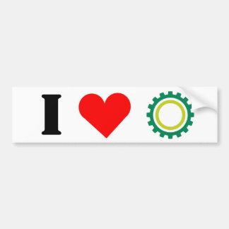 I Heart NEHES Bumper Sticker