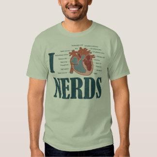 I Heart NERDS Shirt