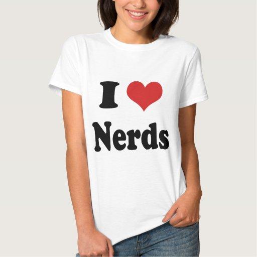 I heart Nerds T Shirt