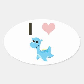 I Heart Nessie Sticker