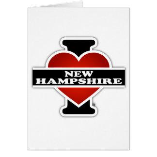 I Heart New Hampshire Greeting Card