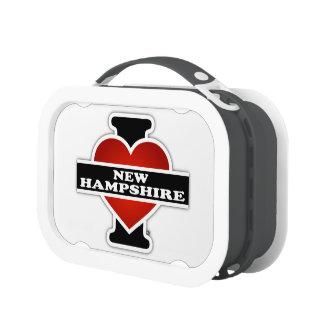I Heart New Hampshire Lunchbox