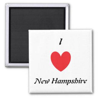 I Heart New Hampshire Magnet