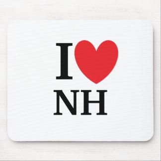 I Heart New Hampshire Mousepad
