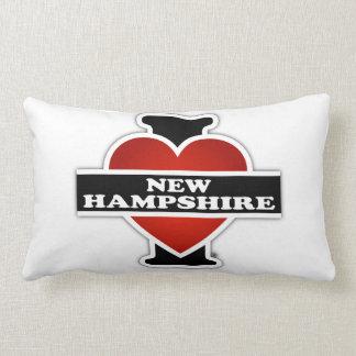I Heart New Hampshire Throw Cushions