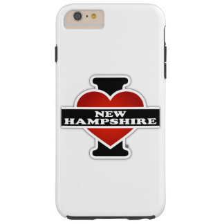 I Heart New Hampshire Tough iPhone 6 Plus Case