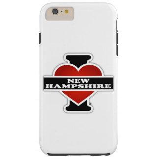 I Heart New Hampshire Tough iPhone 6 Plus Case