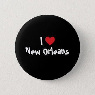 I Heart New Orleans 6 Cm Round Badge
