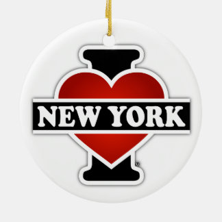 I Heart New York Christmas Ornament