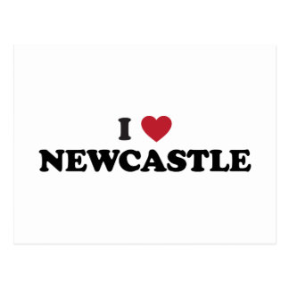 I Heart Newcastle England Postcard