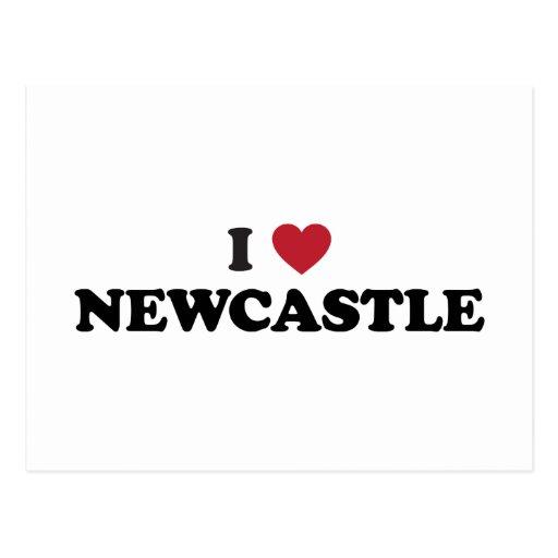 I Heart Newcastle England Postcards