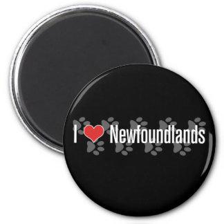 I (heart) Newfoundlands Magnet